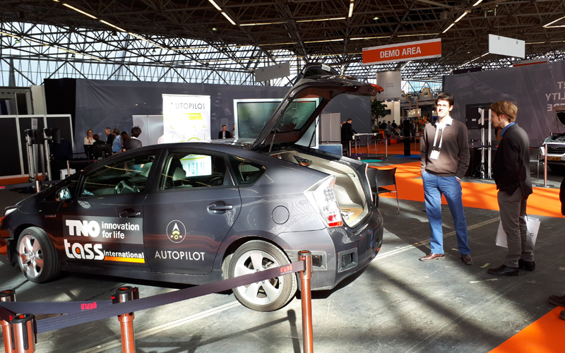 AUTOPILOT's Automated Valet Parking Feature Presented At InterTraffic